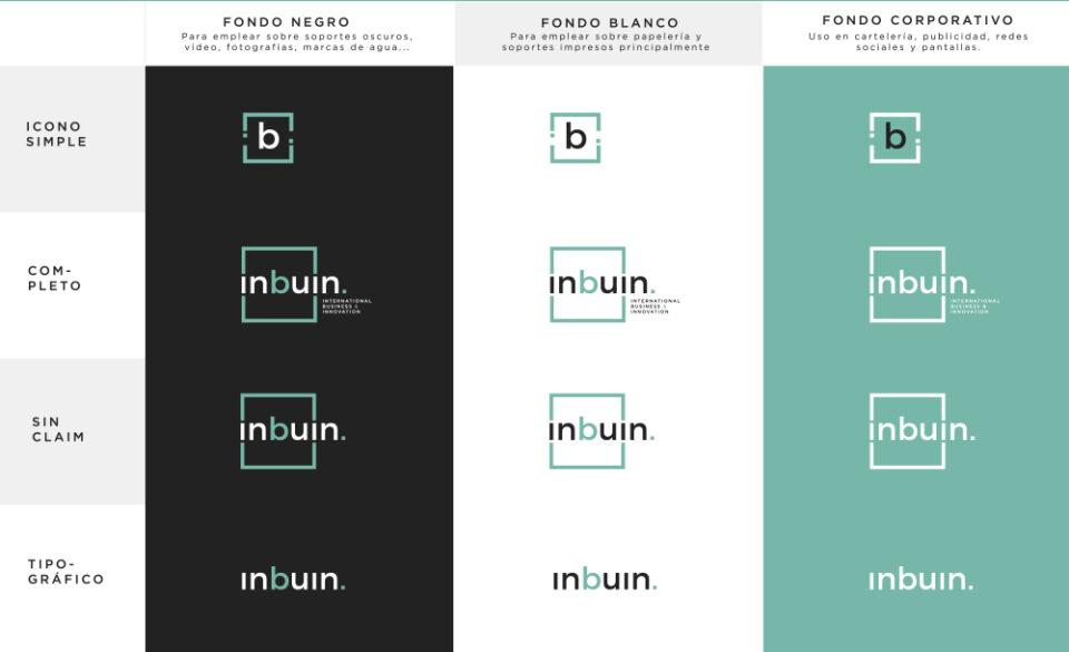 Inbuin-logo-variations